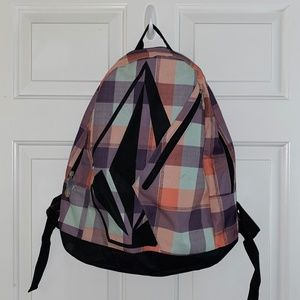 💙Volcom Multi-Colored Backpack